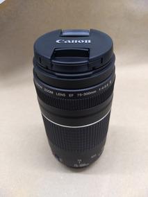 Lente Canon Zoom Lens Ef 75-300mm (excelente Estado)