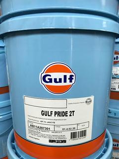Aceite Gulf. Pride 2t Motos X 20 Litros