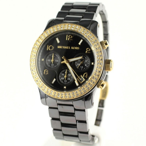 Relógio Luxo Michael Kors Mk5270 Orig Chron&anal Cerâmco!!