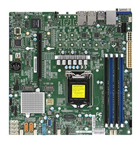 Supermicro Mbd-x11scm-f-o Placa Base De Servidor Micro Atx