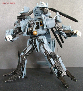 Transformers Decepticon Blackout Movie 2007 Voyager Class