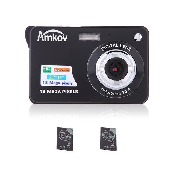 Compact Hd Camera Digital Filmadora De Vídeo 18mp 2.7