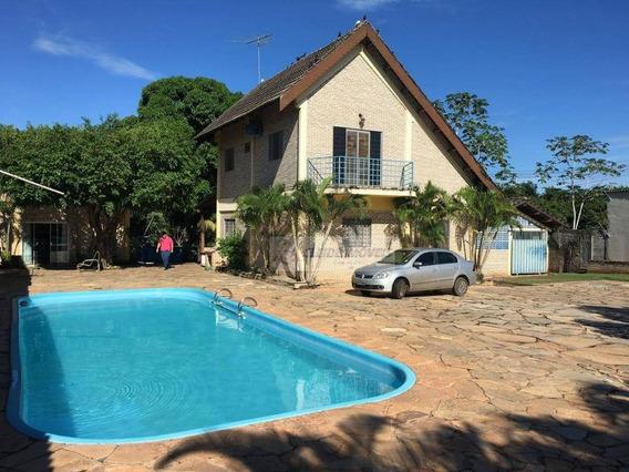 Chácara À Venda, 4600 M² Por R$ 900.000,00 - Santa Izabel - Cuiabá/mt - Ch0046