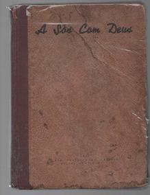 0318-livro A Sós Com Deus Raridade 1942