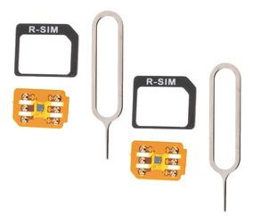 2 Pieces Rsim 11 + R - Sim Nano Destravar Cartão Para iPhone