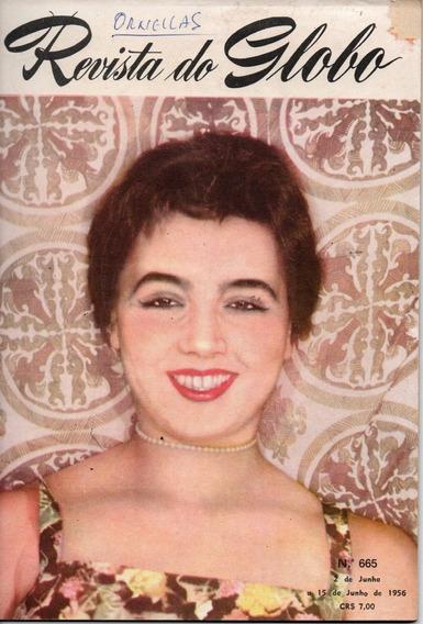 Revista Do Globo Nº 665 - 1956 - Miss Rio Grande Do Sul