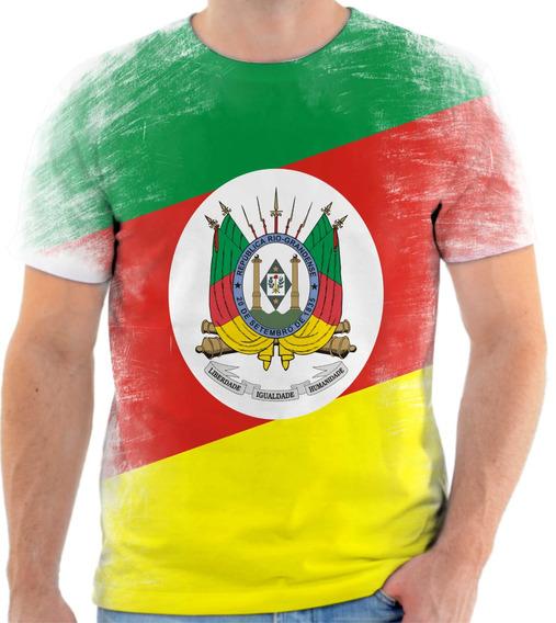 Camiseta, Camisa Bandeira Do Estado Do Rio Grande Do Sul
