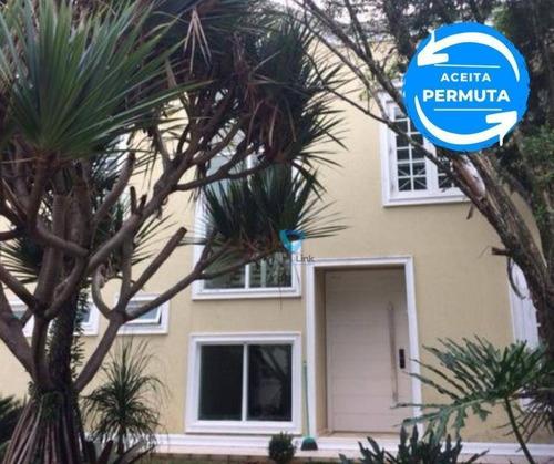 Casa Com 4 Suítes À Venda, 380 M² Por R$ 2.450.000 - Alphaville Residencial Plus - Barueri/sp - Ca0523