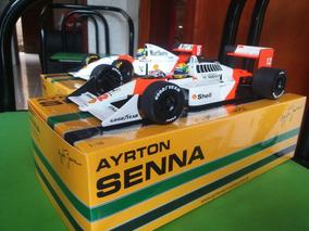 F1 1/18 Mclarens Mp4/4 E Mp4/8 1993 Ayrton Senna
