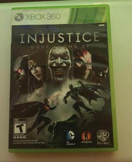 Injustice Gods Among Us Videojuego Xbox 360