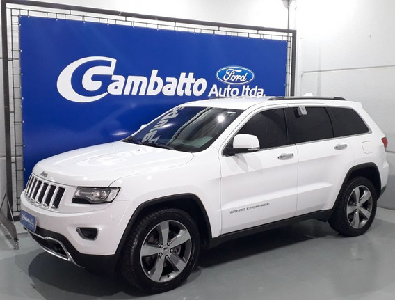 Jeep Grand Cherokee Limited 2014 Branca Gasolina