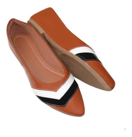 Sapatilha Feminina Sapato Lançamento Confortável Moda Feminina Rasteira