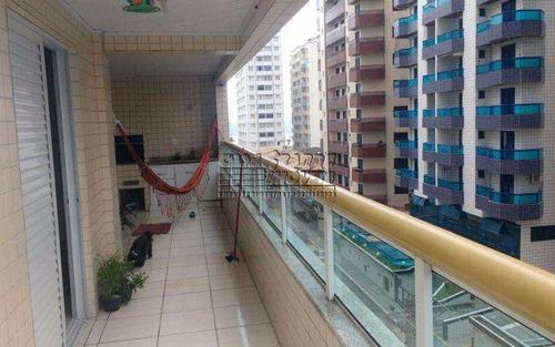 Imagem 1 de 30 de Apartamento Com 3 Dorms, Ocian, Praia Grande - R$ 480 Mil, Cod: 5468 - V5468