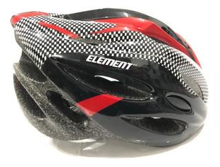 Capacete Element Sinalizador Led Ciclismo + Brinde