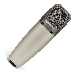 Microfono Samson C03uc Condenser Tres Patrones Usb - Cuotas