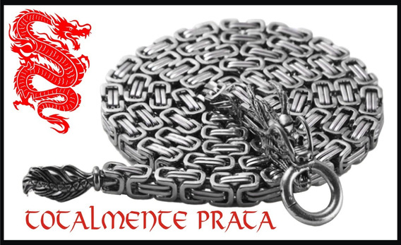 Colar - Chicote - Defesa - Aço - Dragão - Proteção Bruce Lee