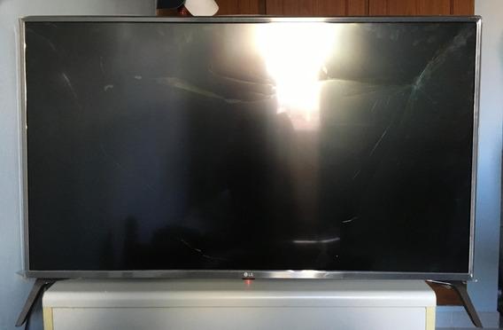 Tv LG 43uj6565 Com Tela Quebrada