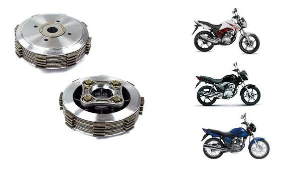 Kit Embreagem Titan 150 / Fan 150 / Nxr 150 Modelo Orig