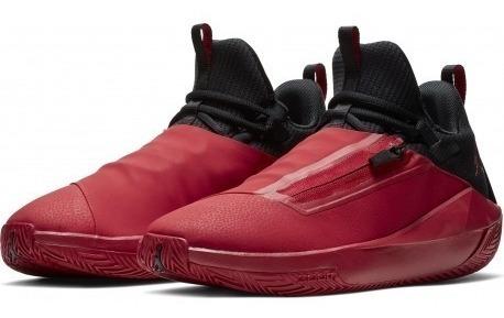 Tenis Jordan Jumpman Hustle Rojo C/negro #6 A 9.5 Mx