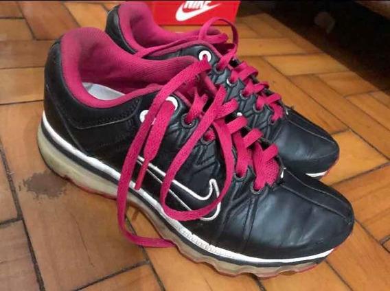 Tênis Nike Air Feminino Preto E Rosa
