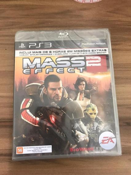 Jogo Mass Effect 2 Ps3 Playstation Novo Lacrado