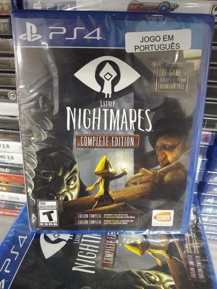 Little Nightmares Complete Edition Ps4 Mídia Física Novo