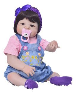 Muñeca Reborn Bebé Envío Inmediato Regalo Niña 55cm Realista