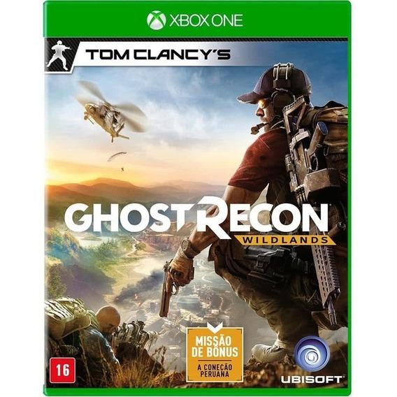 Ghost Recon Wild Lands Xbox One Disco Fisico Lacrado Dublado