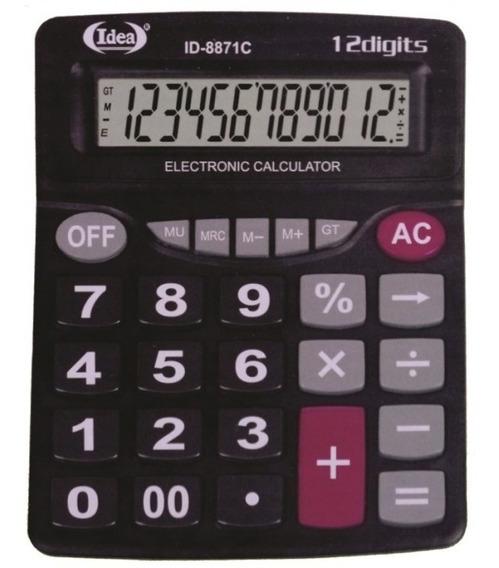 Calculadora De Mesa Comercial Escritório Kit Com 10 Unidades