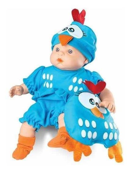 Boneca Meu Bebê - Galinha Pintadinha 34 Cm - Roma Brinquedos