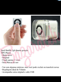 iPod Shuffle 2gb 4° Geração