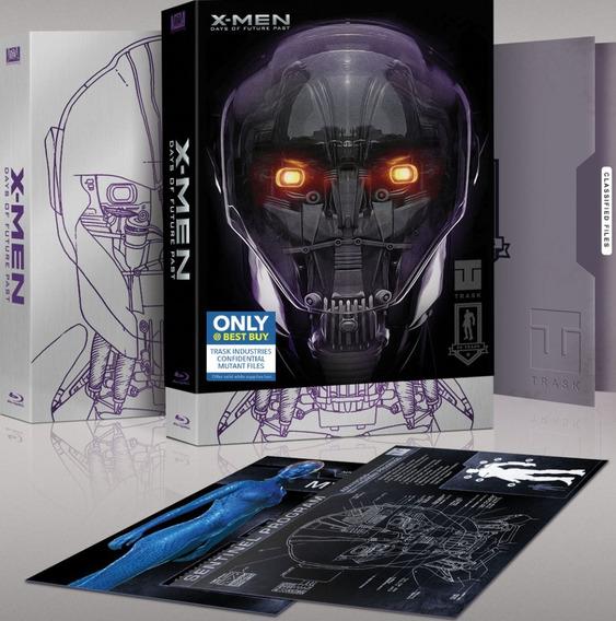 Blu-ray 3d + 2d X Men: Dias De Um Futuro Esquecido 2 Discos