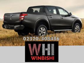 L200 Mitsubishi 2017 30% Adelanto Y 36 Cuotas Con Dni