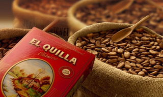 Cacao En Polvo El Quilla Chocolatada Lata 900g + Bolsa 5kg