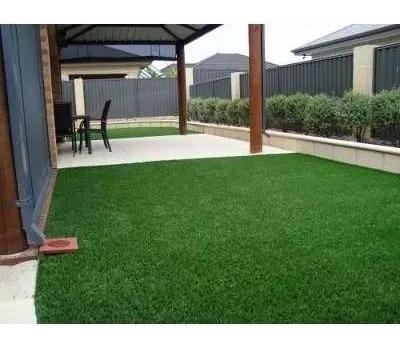 Tapete Grama Sintética Decoração 12mm Jardim 3m² Verde