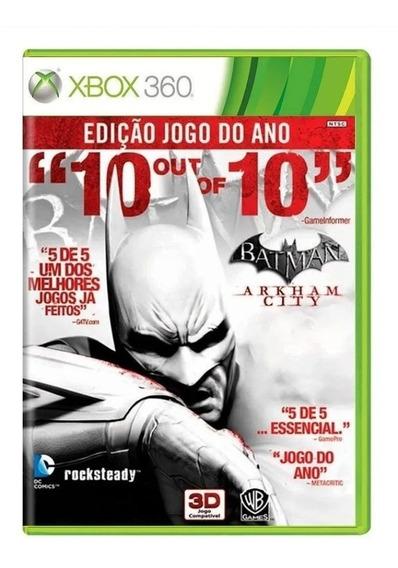 Batman Arkhan City Xbox 360 - Original