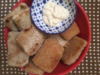 Nuggets De Tofu Veganos Premium- Patitas Sanas Y Muy Ricas!