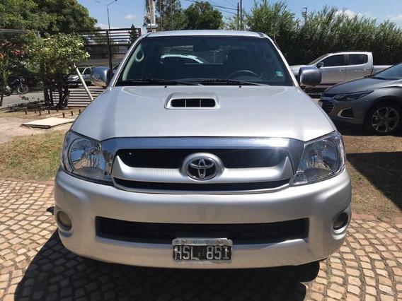 Toyota Hilux 4x2 Sr Motor 3.0 Gris 2009