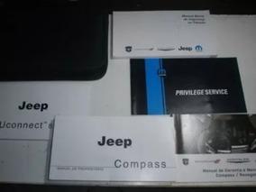 Manual Do Jeep Compass Completo Em Branco Sem Uso Original