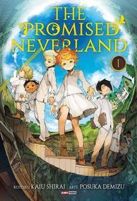 Mangá The Promised Neverland 1 E 2 Lacrados!