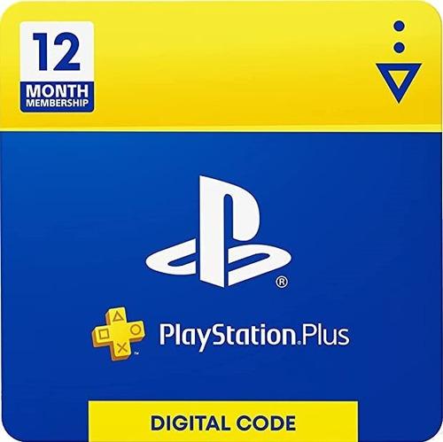 Imagen 1 de 2 de Tarjeta Playstation Psn Plus 12 Meses Usa Ps4   Mvd Store