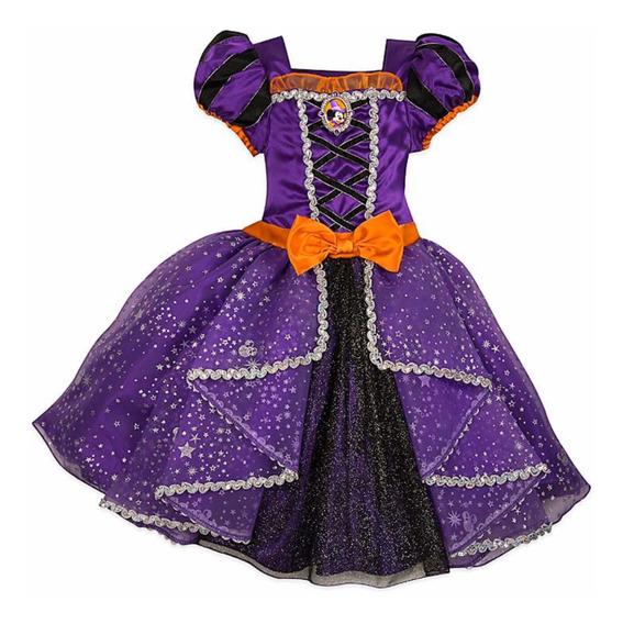 Disfraz Minnie Hallowen Original Talle 5/6