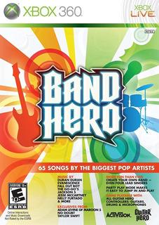 Band Hero Xbox 360 Fisico Original Rock Band Guitar