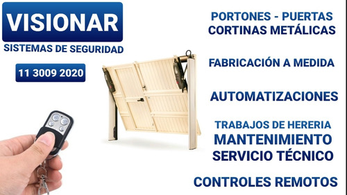 Imagen 1 de 5 de Service De Portones - Mantenimiento - Reformas Y Herreria