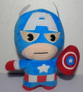 Peluche Muñeco Súper Héroes Capitan America