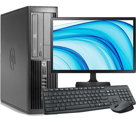 Computador Completo Hp I7 8gb 500gb Wifi + Monitor