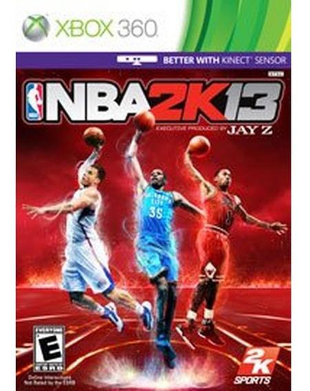 Nba2k13 - Jogo De Basquete Xbox 360