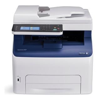 Impresora Laser Color Xerox 6027 Wifi Red Multifuncion Lanus