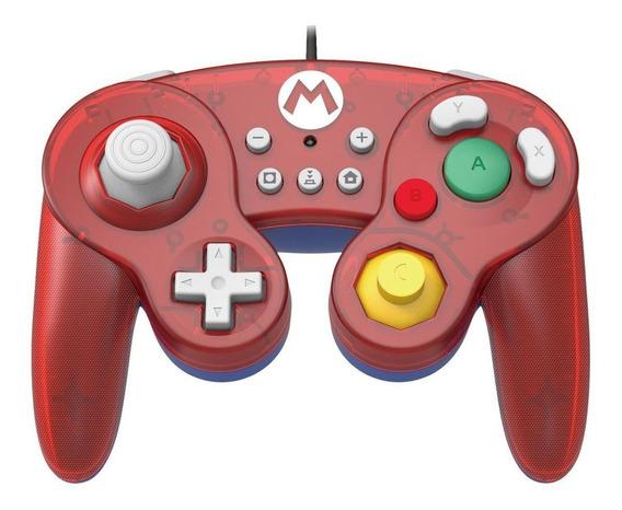 Controle joystick Hori Battle Pad mario
