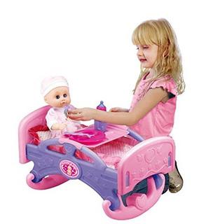 Mommy - Baby Rocking Bed Furniture Para Muñecas